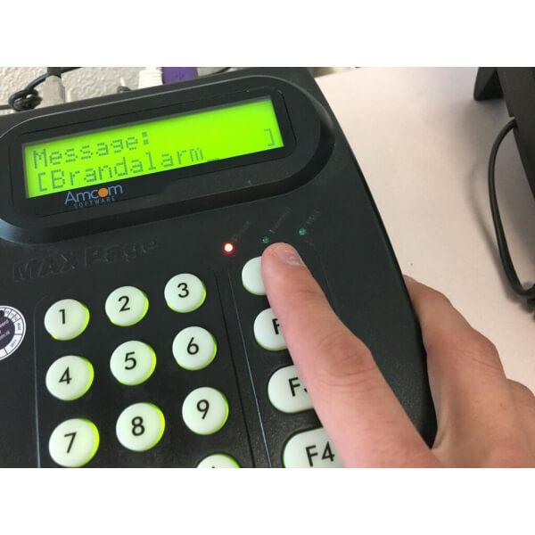 BHV oproepsysteem